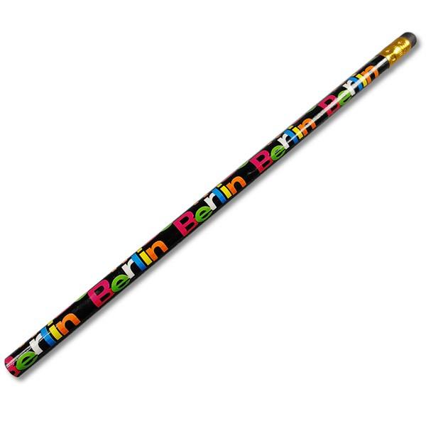 Bleistift Color Schrift schwarz
