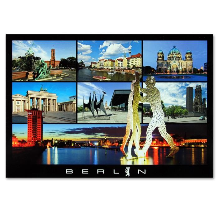 Postkarte Standard QF Berlin 7er Bild