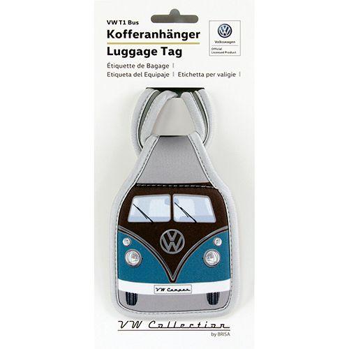 VW T1 Bus Kofferanhänger petrol braun