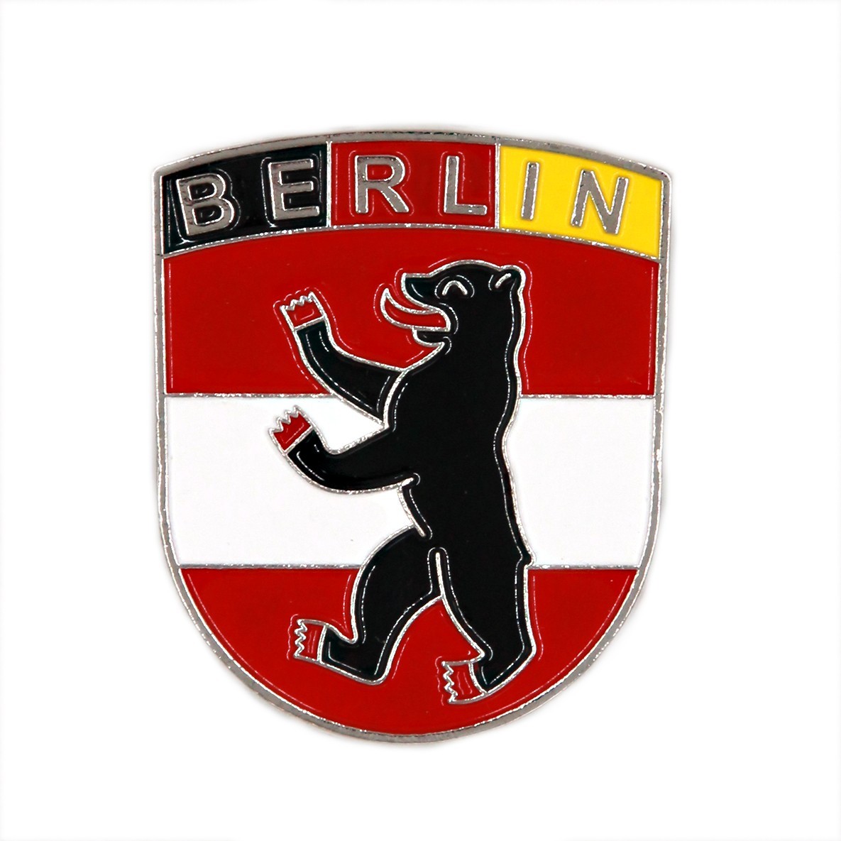 Magnet Metall Wappen Bär