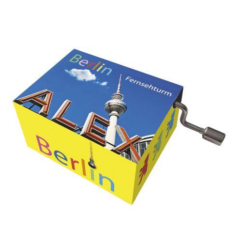 Spieluhr art music Berlin TV-Turm