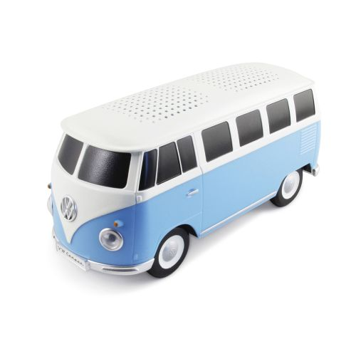 VW T1 Bus Bluetooth Lautsprecher in Box - blau