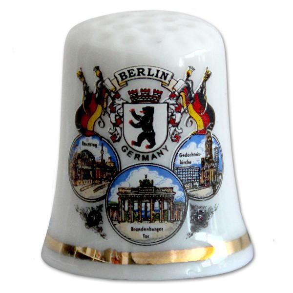 Fingerhut Porzellan in Box 3er Bild Berlin