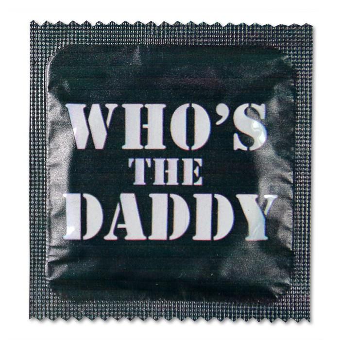 Kondom WHO'S THE DADDY