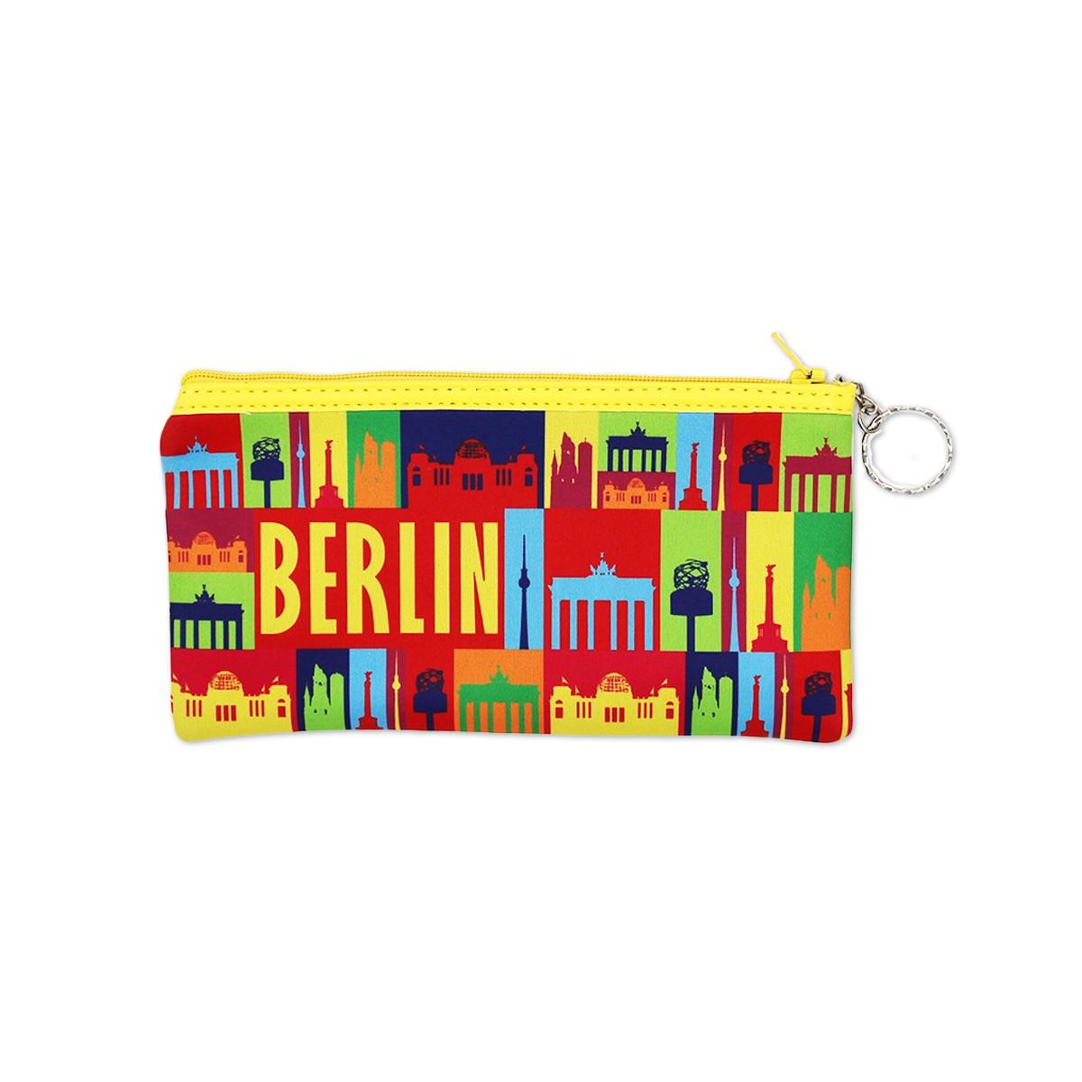 Federtasche Neopren Berlin bunt