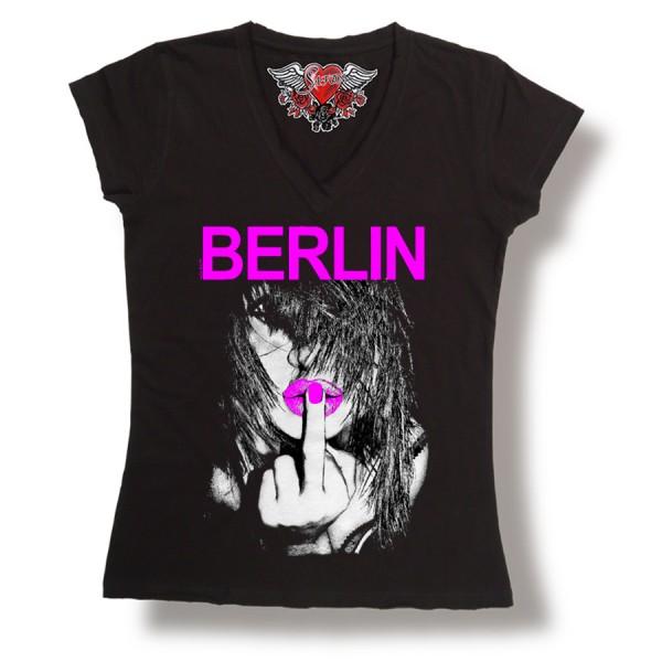 D Shirt Berlin Finger Größe S