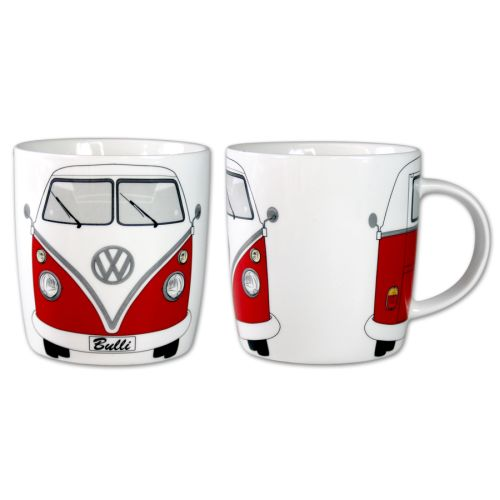 VW T1 Bus Kaffeetasse 370ml in Box - rot