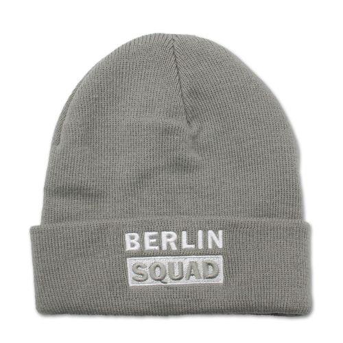 Mütze Berlin Squad hellgrau