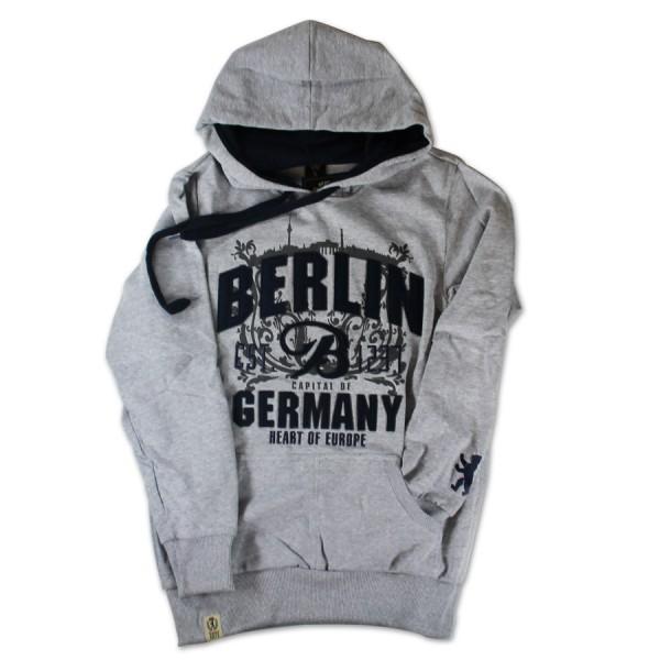 Sweater Berlin Germany in dunkelblau Größe S