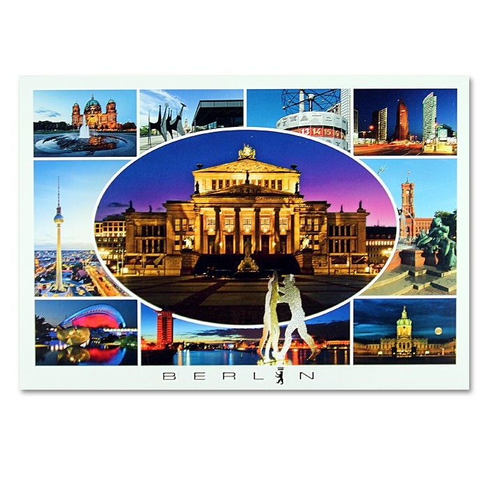 Postkarte Royal QF Berlin 10er Bild