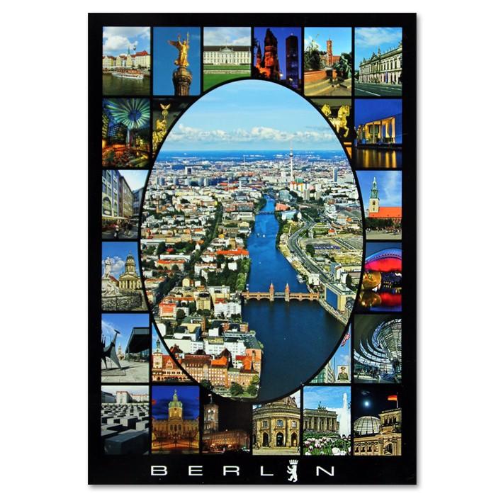 Postkarte Standard HF Berlin 25er Bild