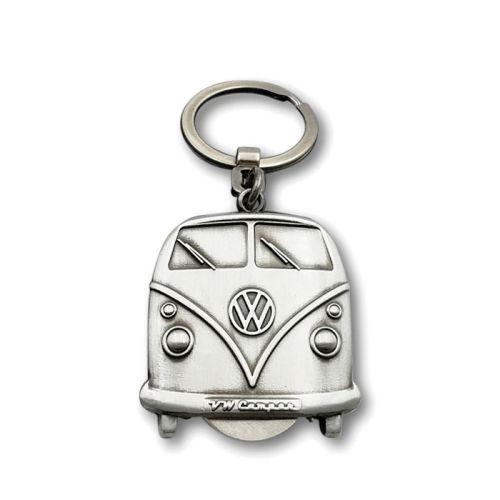 VW T1 Bus Schlüsselanhänger mit Einkaufswagernchip
