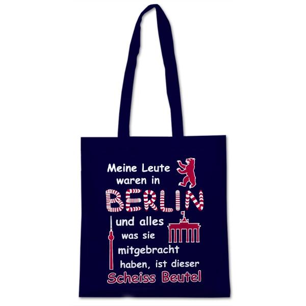 BW-Beutel Meine Leute waren in Berlin marine