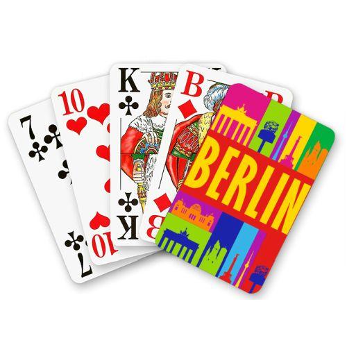 Spielkarten Berlin bunt