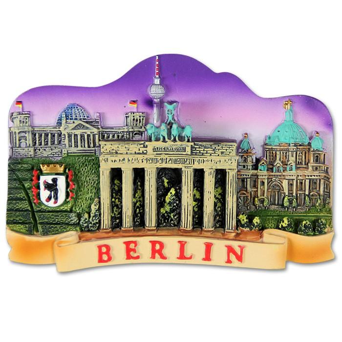 Magnet Poly 4er Berlin Nacht