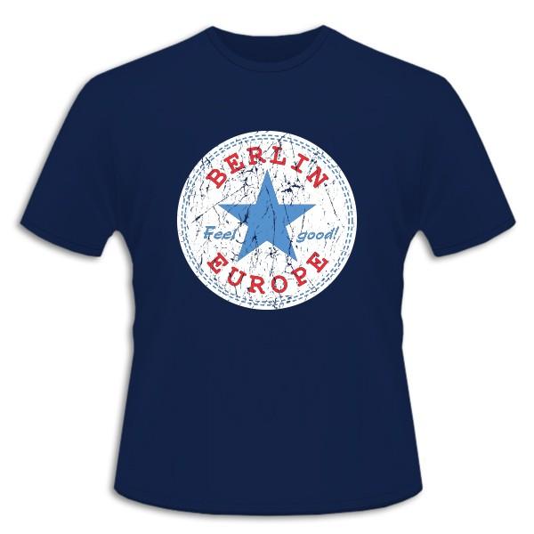 K Shirt Feel Good Berlin marine Größe 104