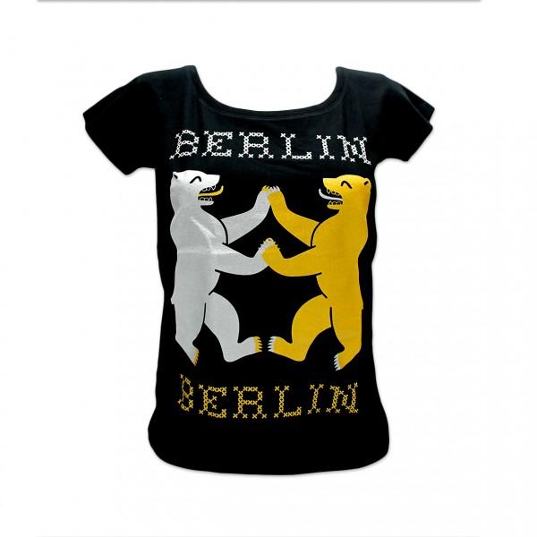 D Shirt Berlin bear-lin Größe M