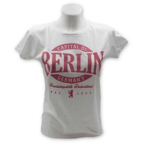 D Shirt Oval Puff Berlin weiß