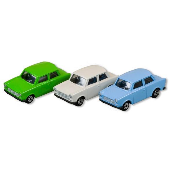 Trabant in verschiedene Farben, mini 7cm