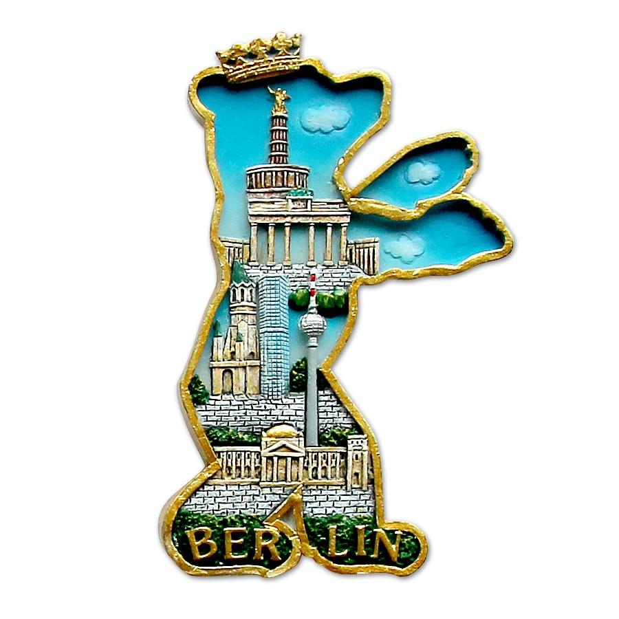Magnet Poly Berliner Bär