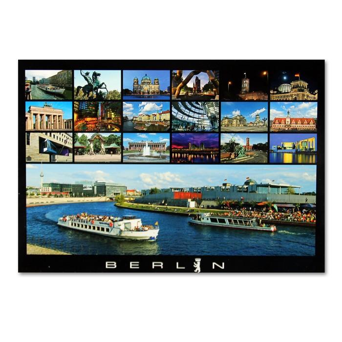 Postkarte Standard QF Berlin 19er Bild