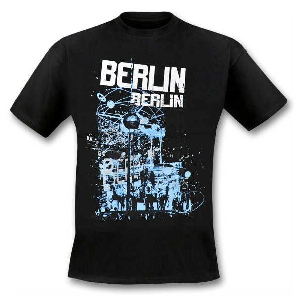 H Shirt TV Tower Berlin schwarz ( S)