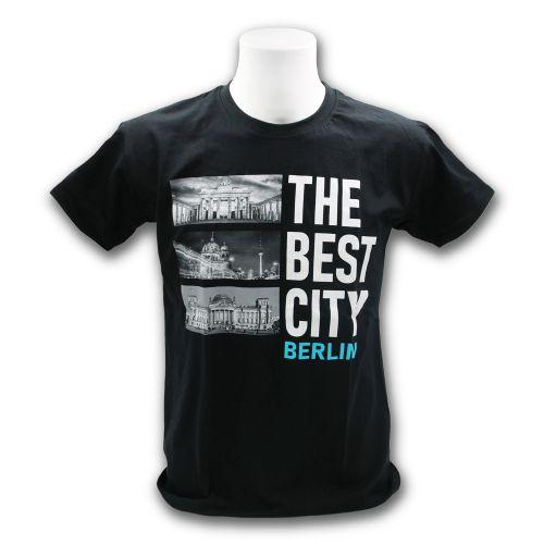 H Shirt The Best City schwarz