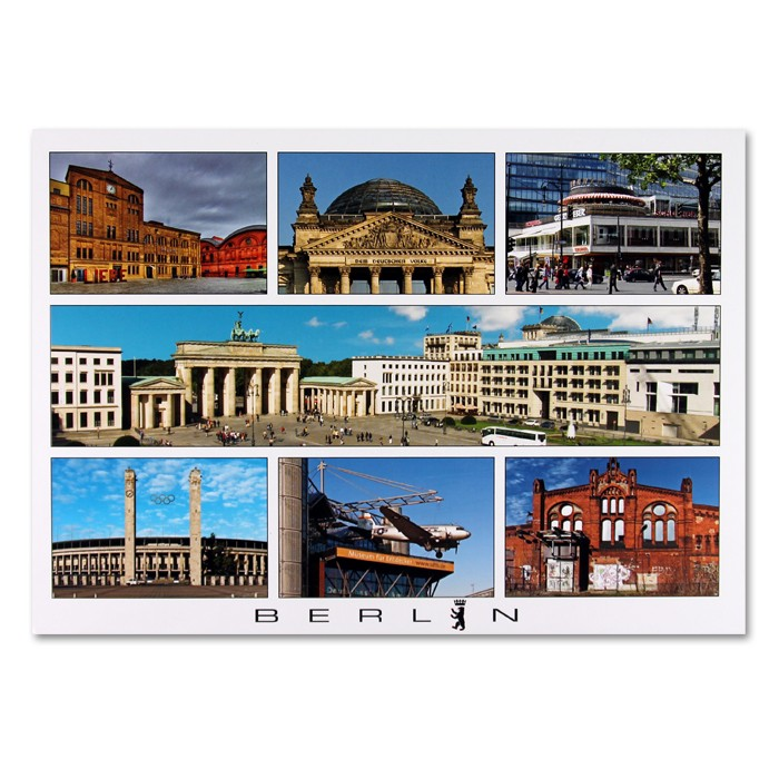Postkarte Royal QF Berlin 7er Bild