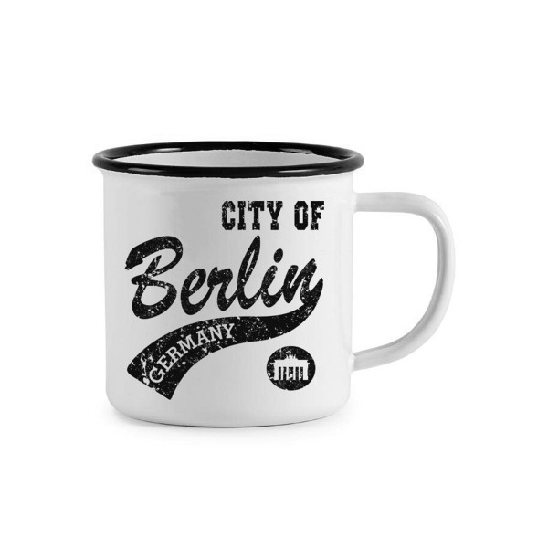 Tasse Emaile City Of