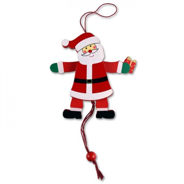Hampler Weihnachtsmann 12cm, sortiert