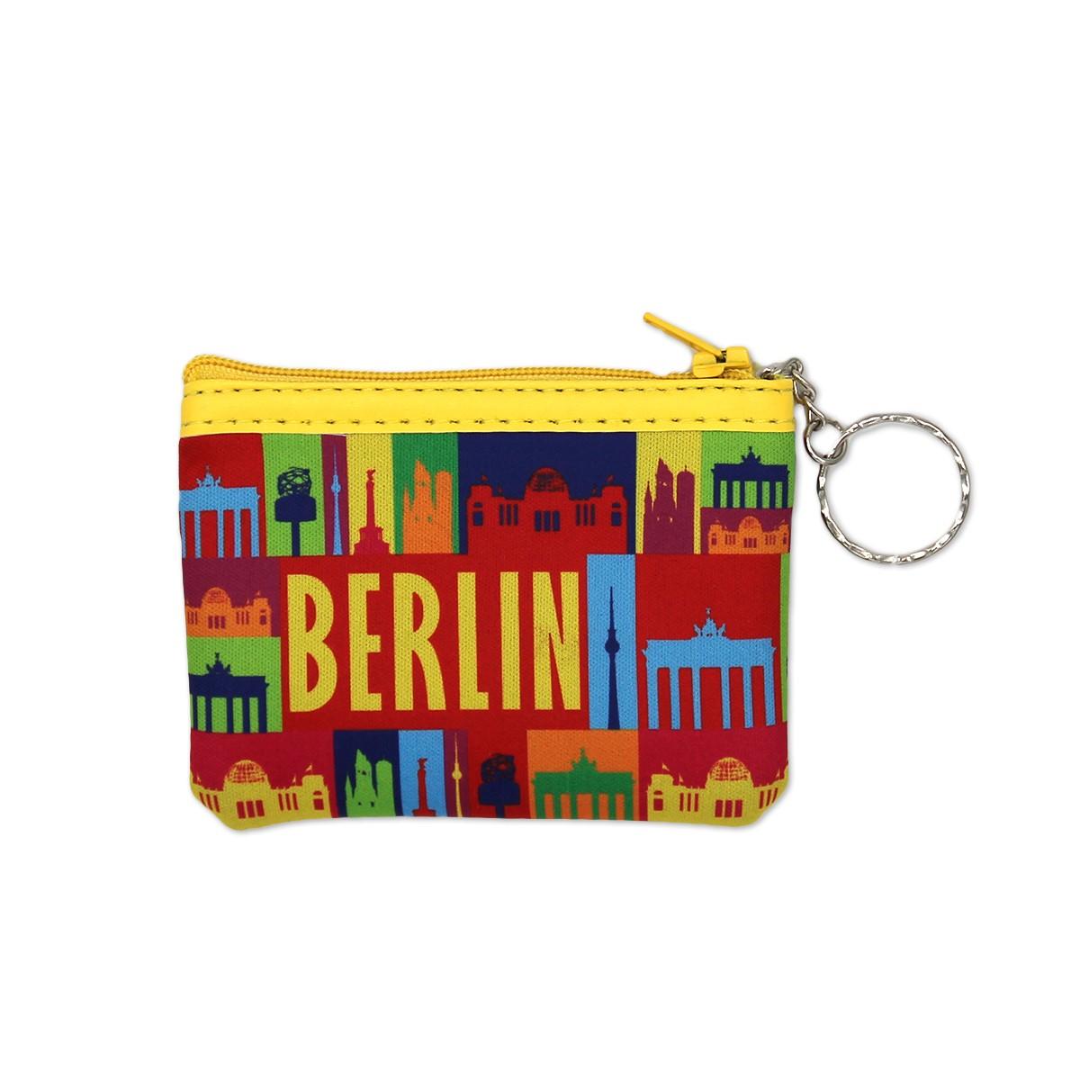 Geldbörse Neopren Berlin bunt