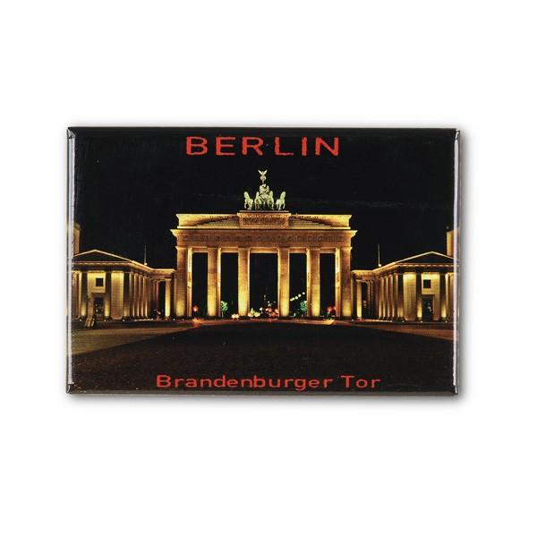 Fotomagnet BT bei Nacht Berlin