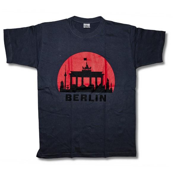 H Shirt roter Kreis dunkelgrau ( S)