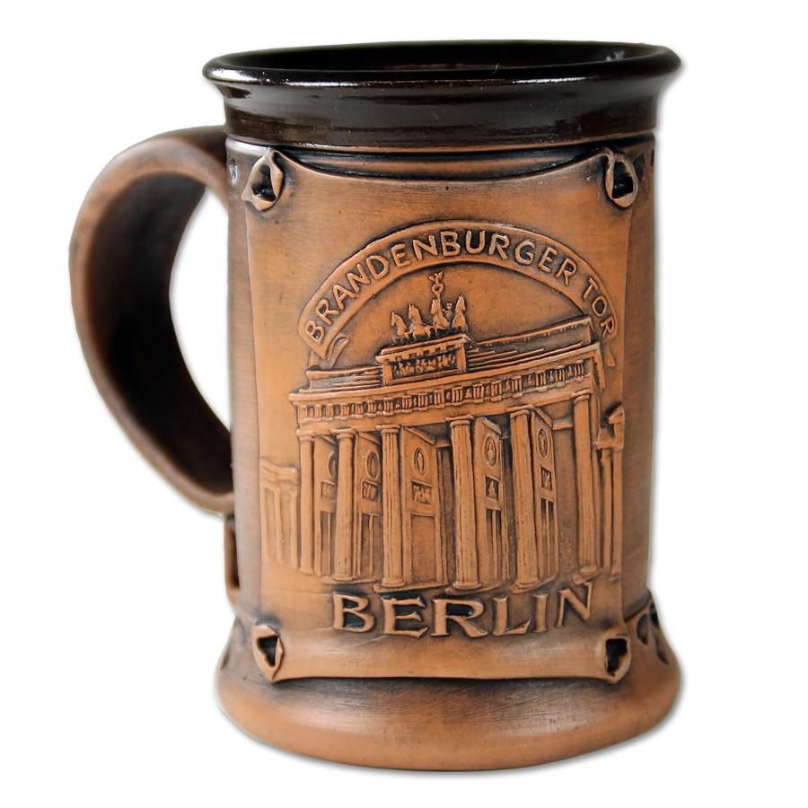 Bierkrug Keramik BT Berlin