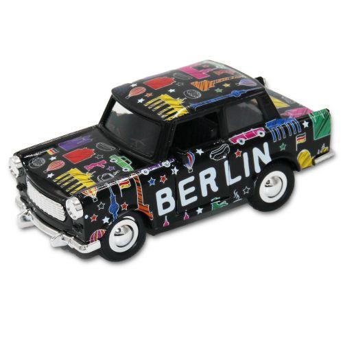 Trabant Scribble schwarz 12cm