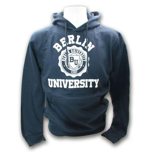 Sweater Uni Rund Groß Berlin marine