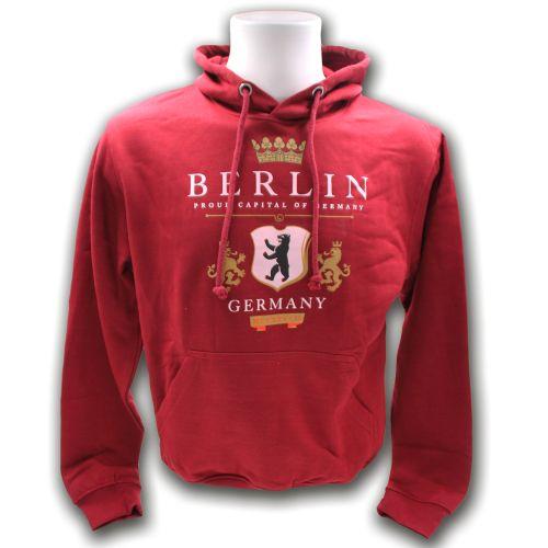 Sweater Proud Berlin burgundy