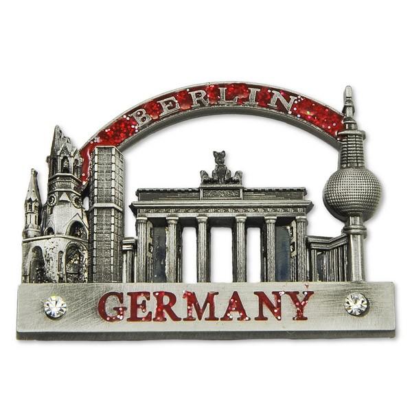 Magnet Metall Berliner Sehenswürdigkeiten