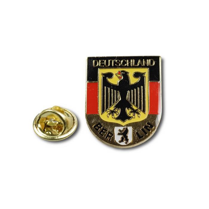 Pin Wappenform D-Adler Berlin
