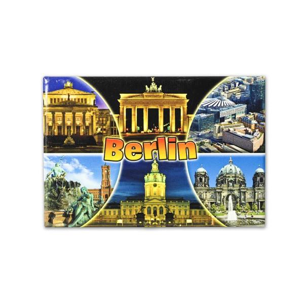 Fotomagnet 6 Bilder + Bogen Berlin