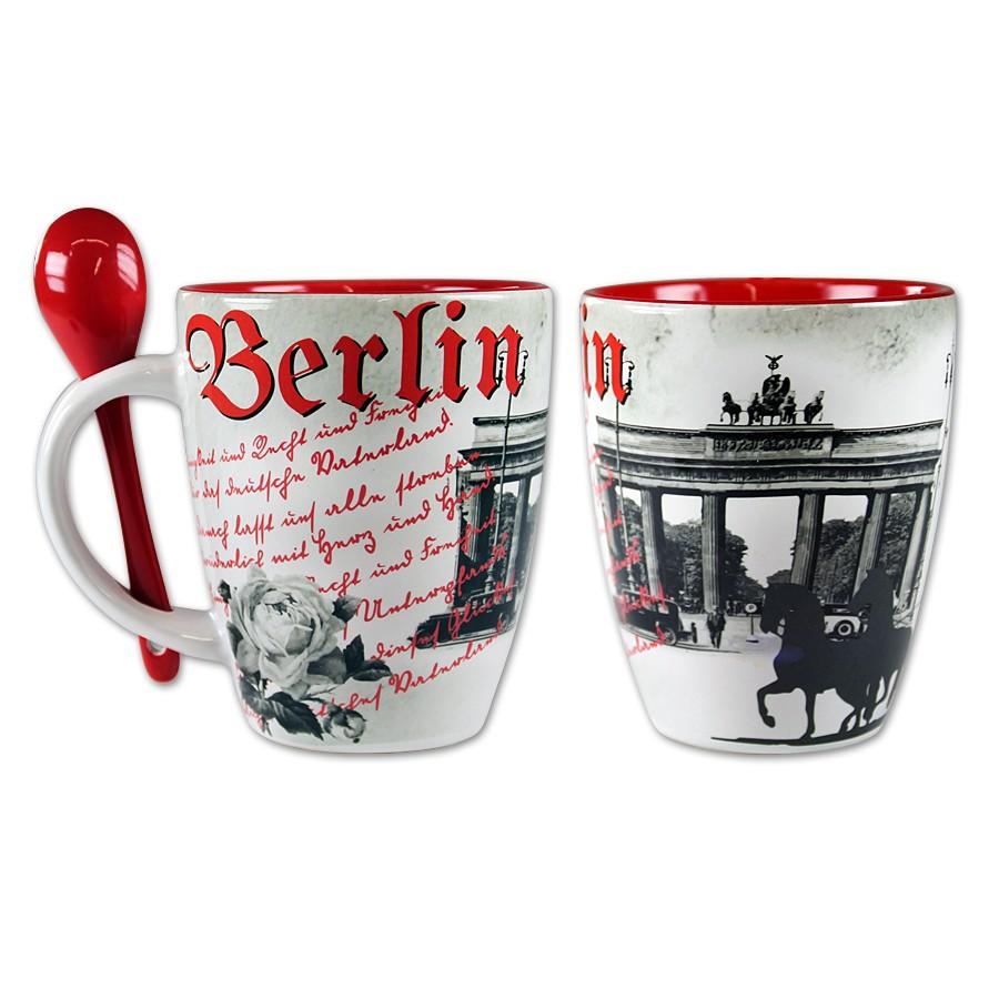 Tasse bauchig Berlin Romantik