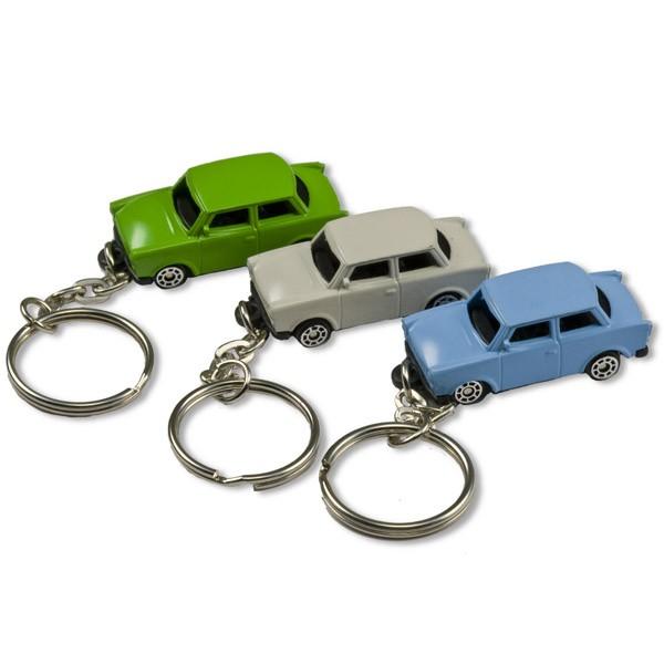 Schlüsselanhänger Trabant farblich sortiert