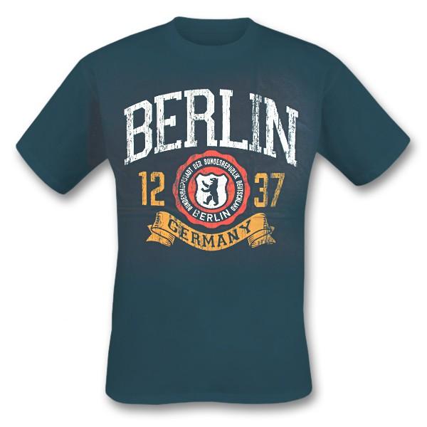 H Shirt Berlin Barleus, blue dusk, Größe S