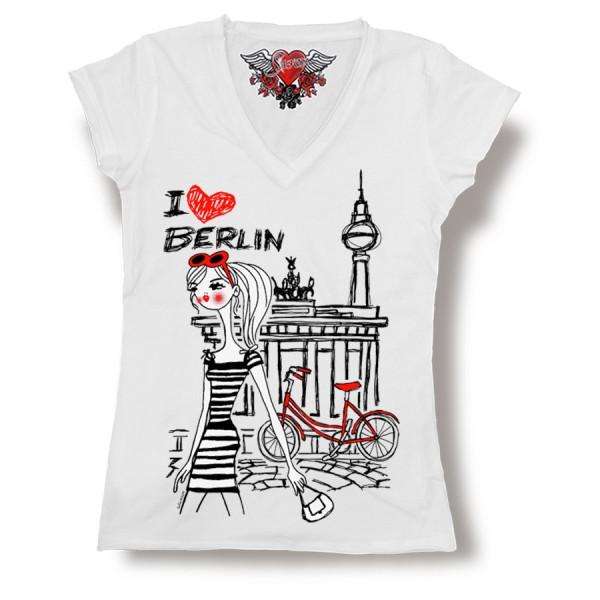 D Shirt chica Berlin Größe S