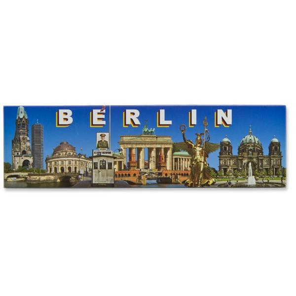 Fotomagnet Panorama Berlin bei Tag