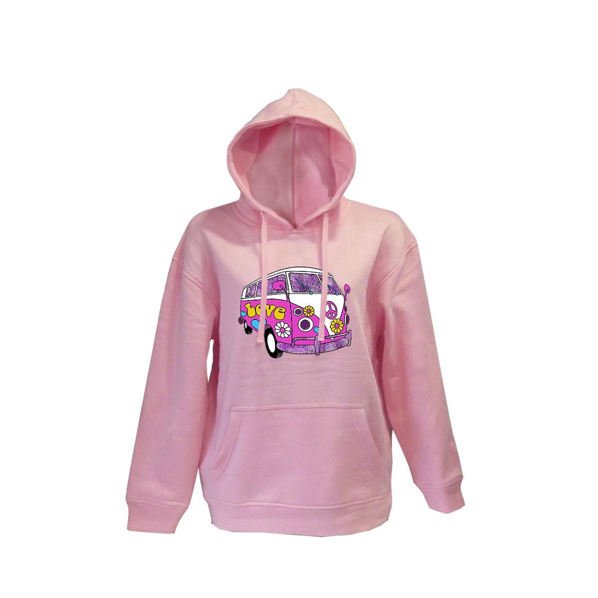 K Sweater Furgo pop pink Größe 104