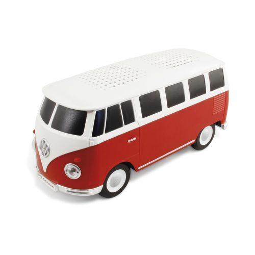 VW T1 Bus Bluetooth Lautsprecher in Box - rot