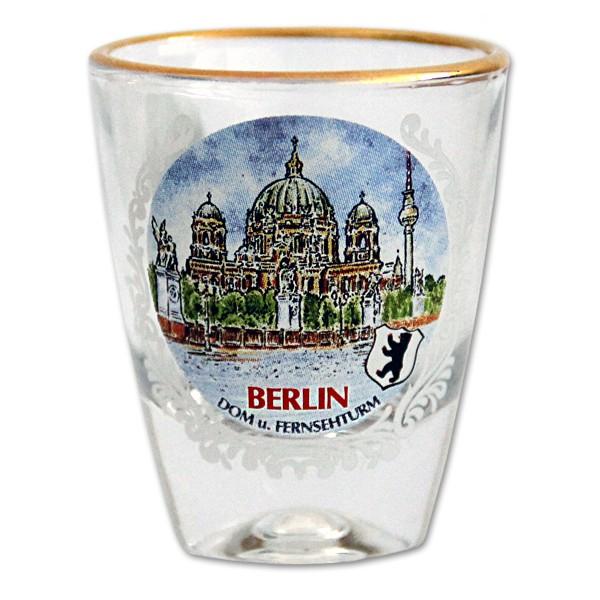 Stamper Goldrand Berliner Dom Berlin