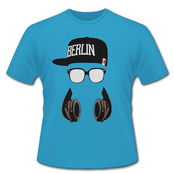 K Shirt Berlin Glasses, türkis Größe 116