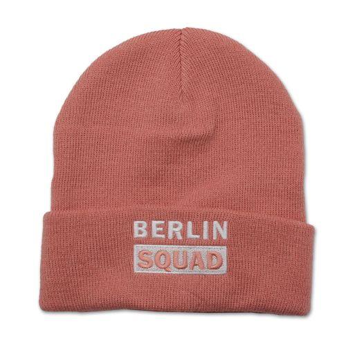 Mütze Berlin Squad rosa